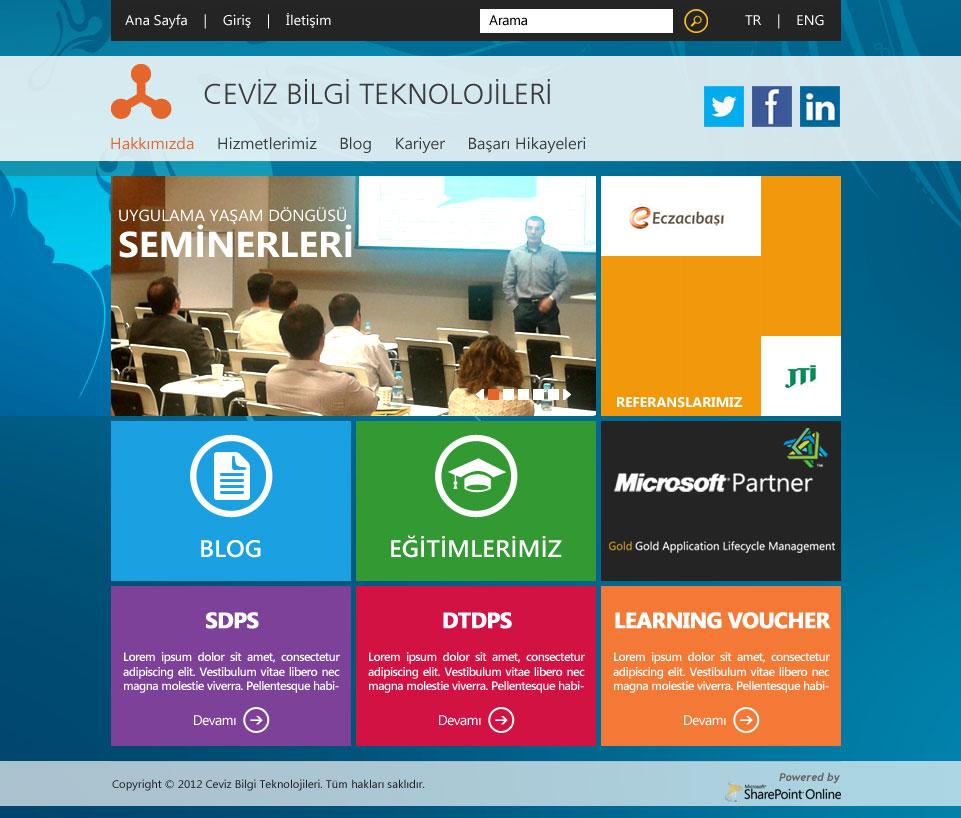Ceviz Web Site V.2