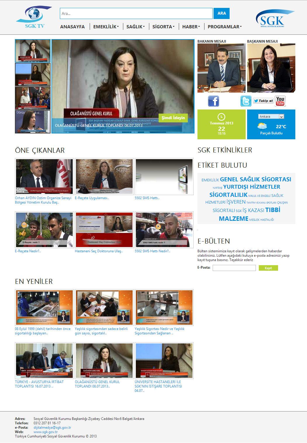 SGK Web TV
