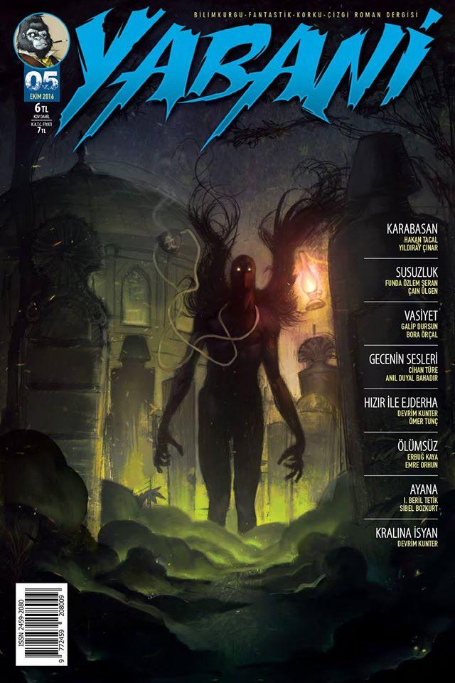 Yabani Dergi Sayı 5 (Ölümsüz)